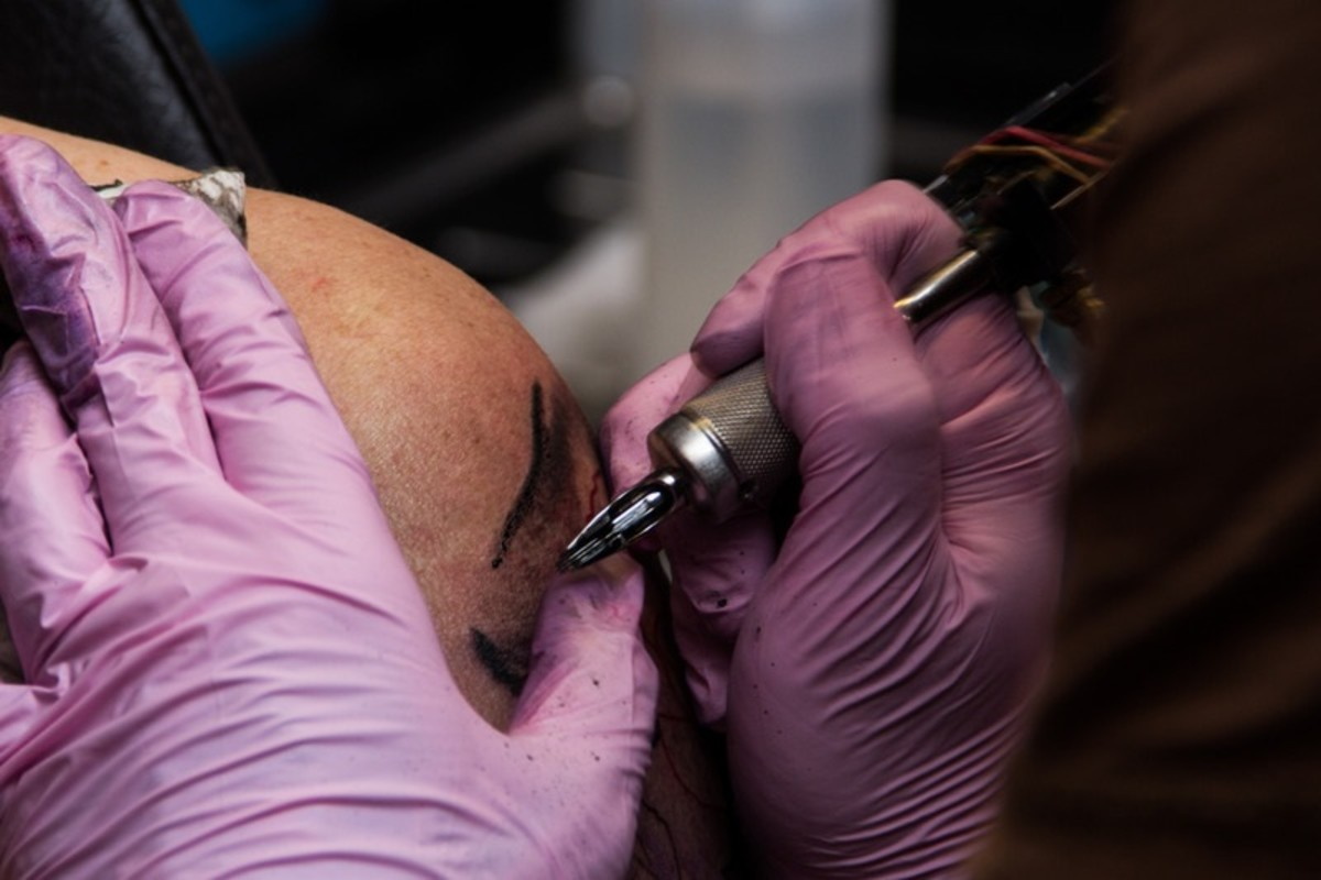 Any tattoos or touch ups within the last twelve months may disqualify you from plasma donation.