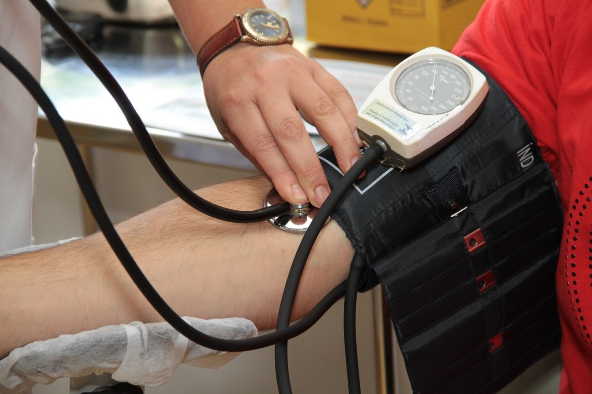 Each donation requires a screening process that includes vital signs, weight, and blood sample.