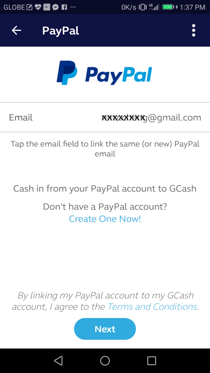 You will be asked to input your Paypal email address and then hit on proceed at the upper right corner