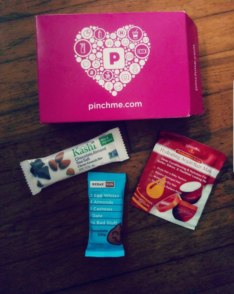 My very first free PinchMe sample box.