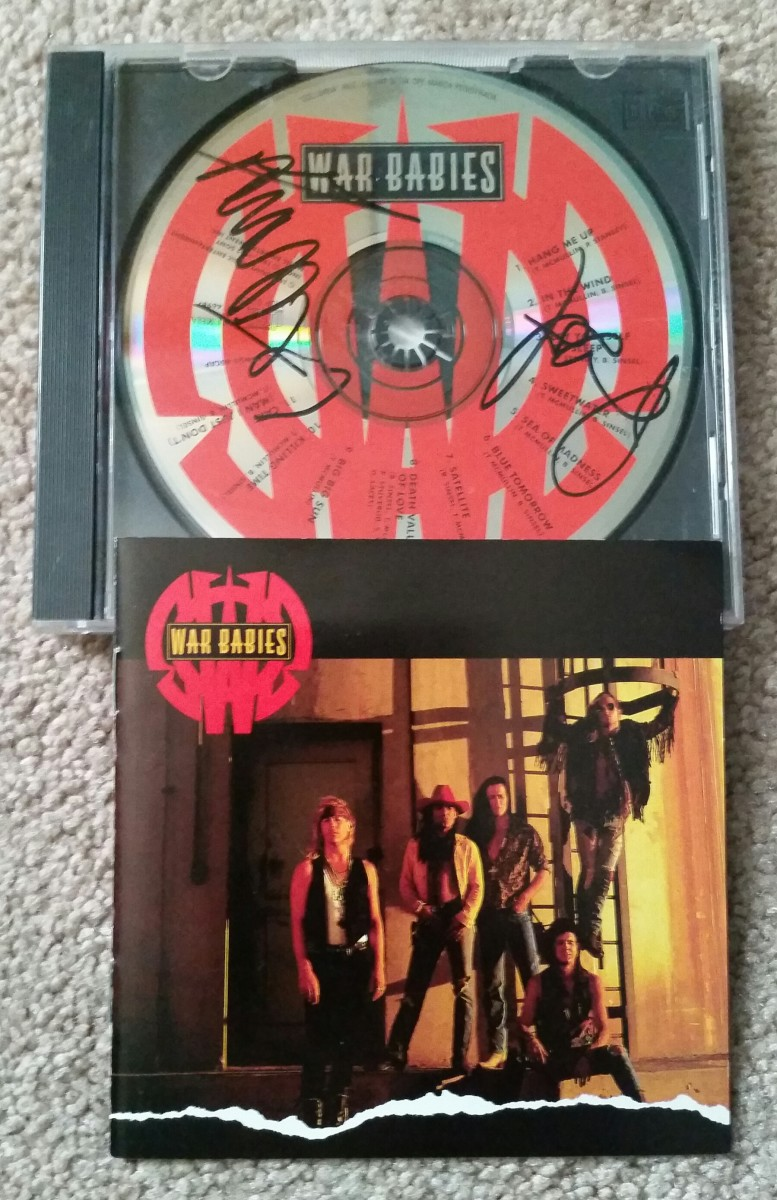 Autographed CDs are always a cool find.