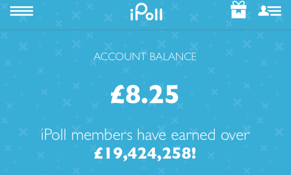 My iPoll balance.