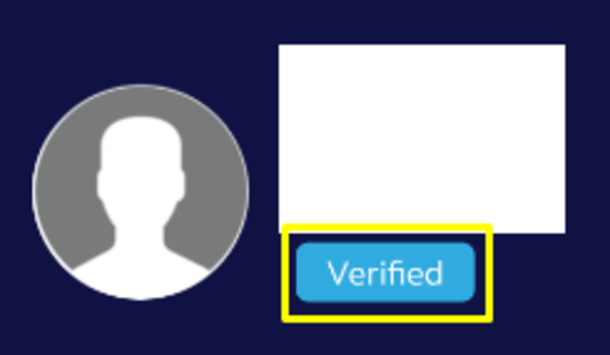 "Verified GCash accounts have the label ""Verified"" in the mobile app"