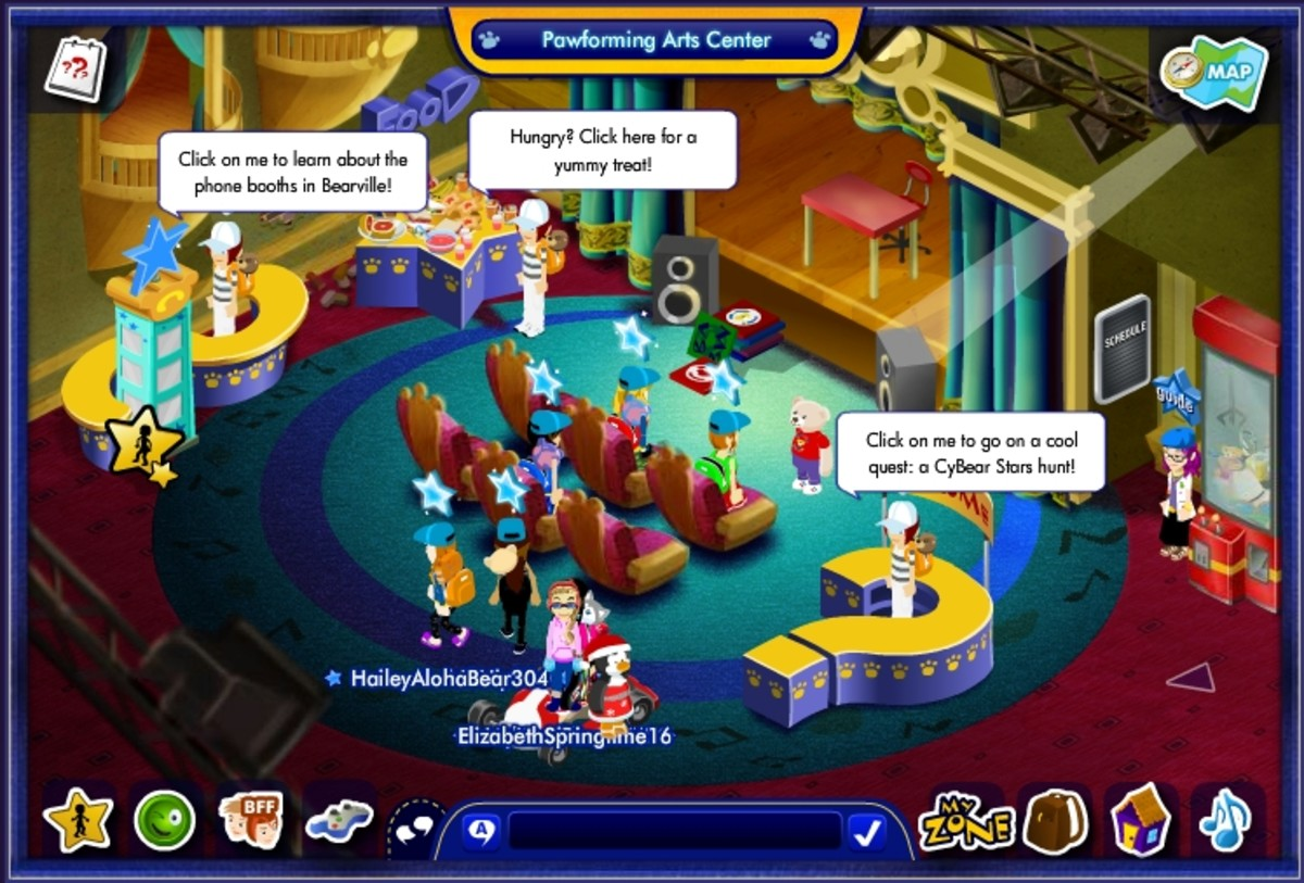 Screencap of Build-a-Bearville in 2012.
