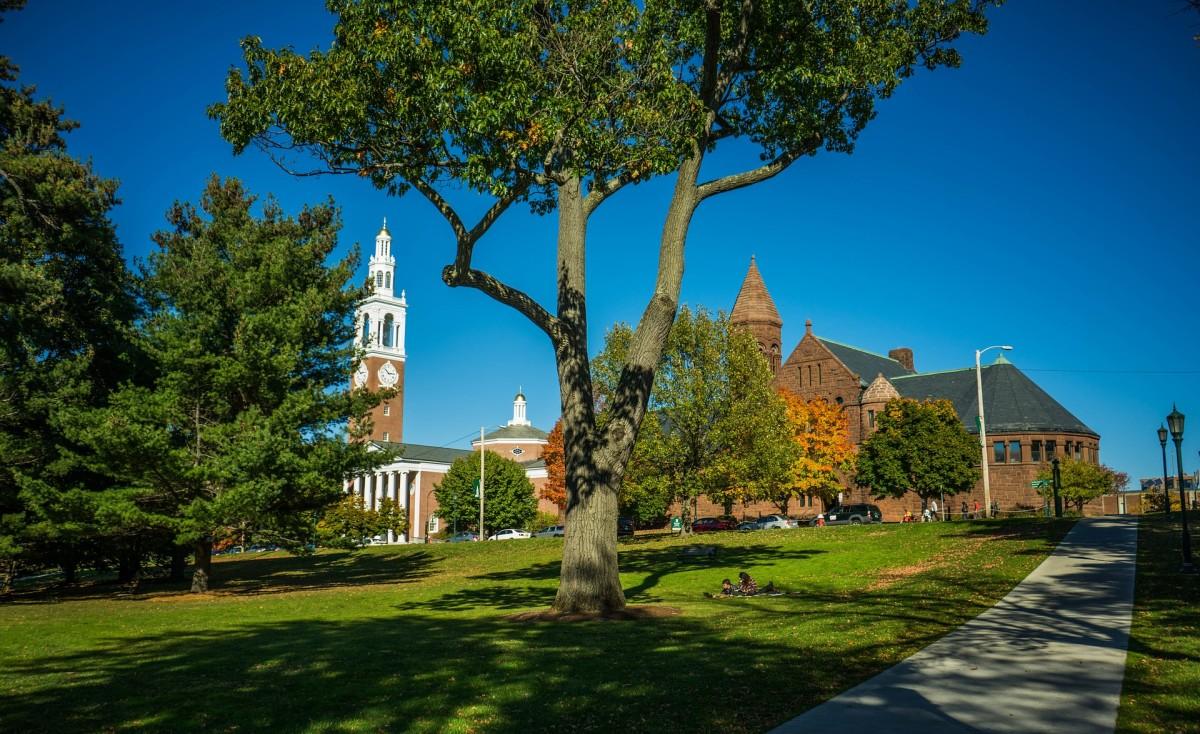 University of Vermont, in Burlington