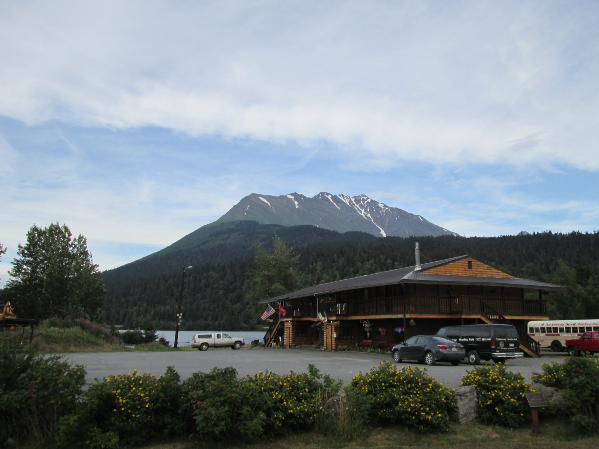 Trail Lake Lodge in Moose Pass, Alaska where I worked for a summer.