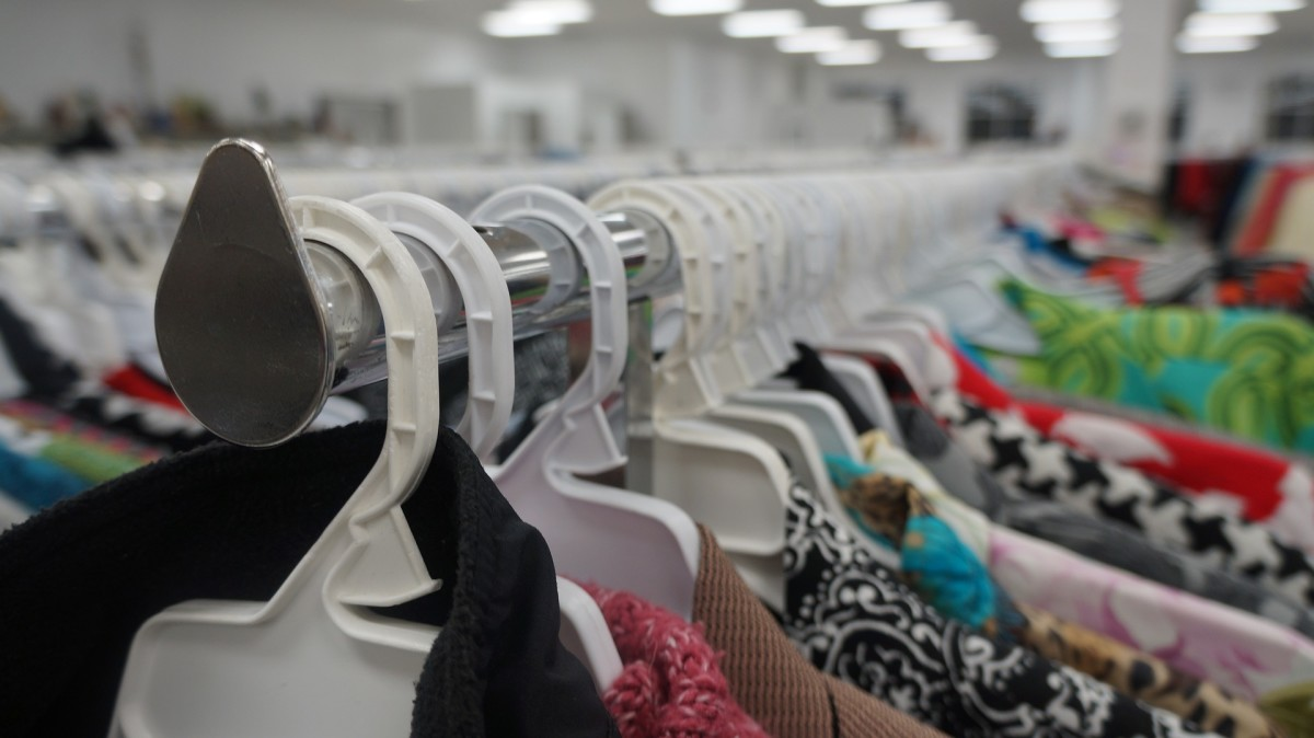 With some patience and practice, you can find amazing clothes at thrift stores.