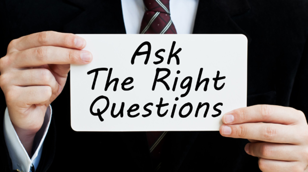 If you want to ace a job interview, be prepared to ask relevant questions.