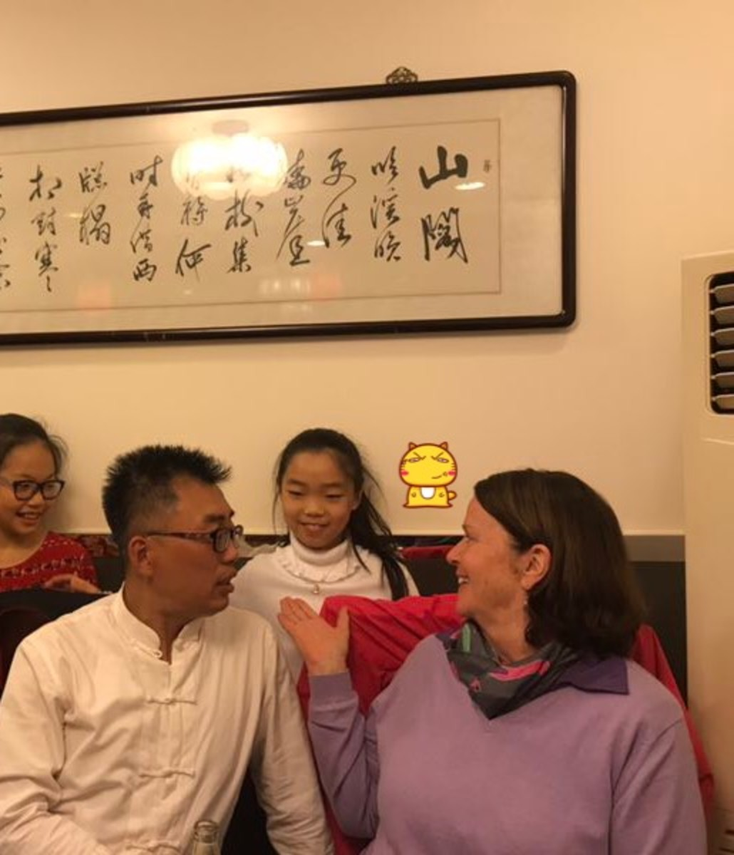 Meeting VIPKID  student Jane in Beijing!   What a great time we had!