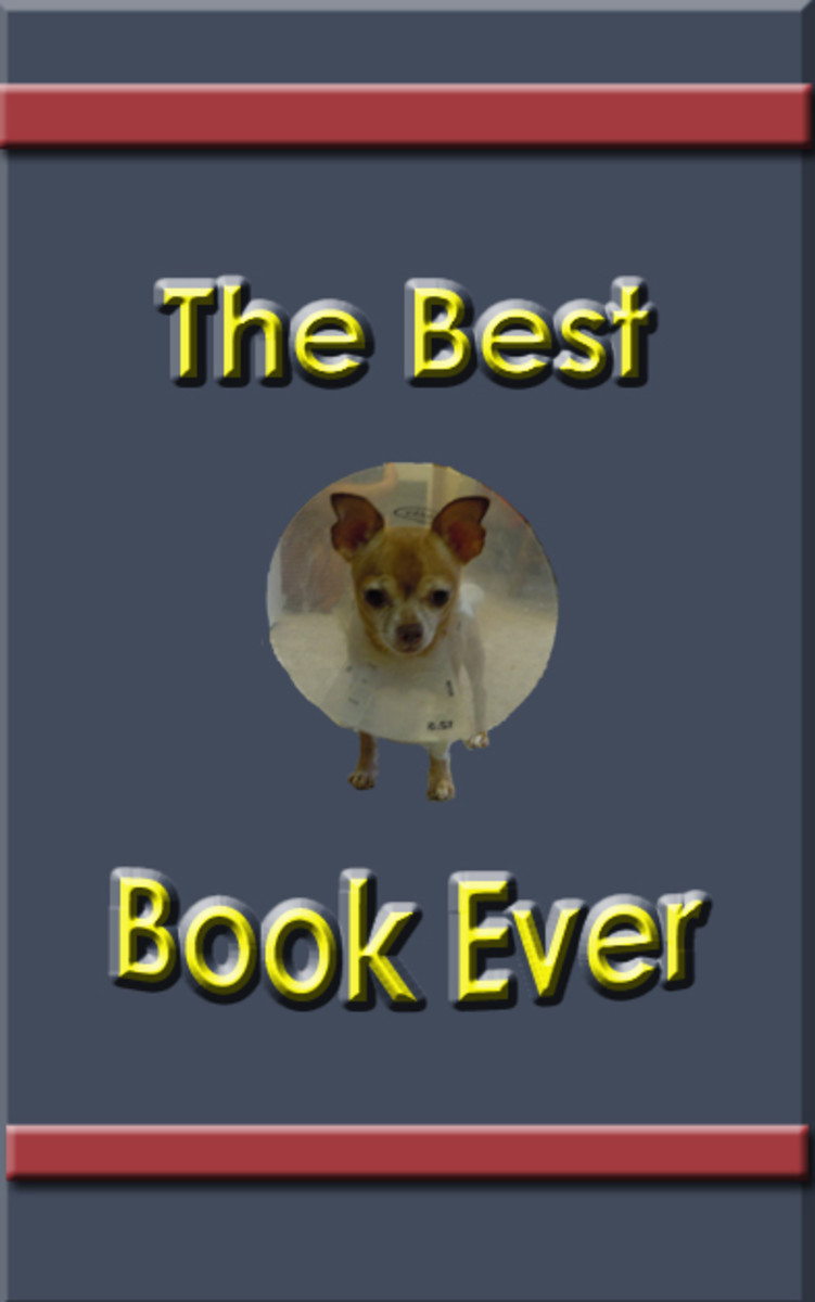 Cute dog, but not the best cover design ever.