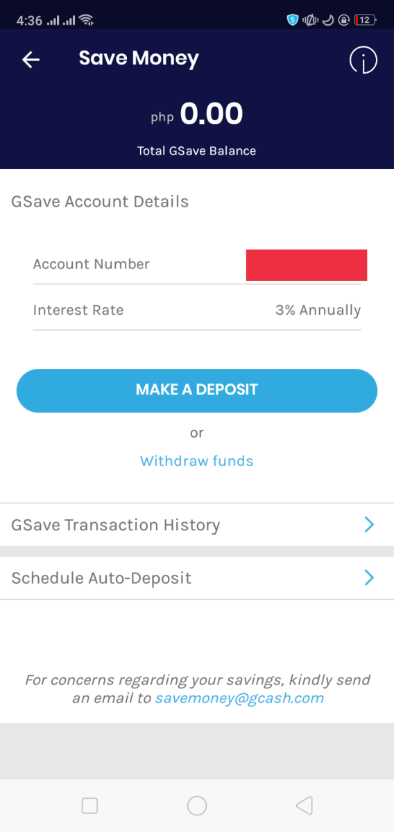 How to Deposit to Your GSave Savings Account