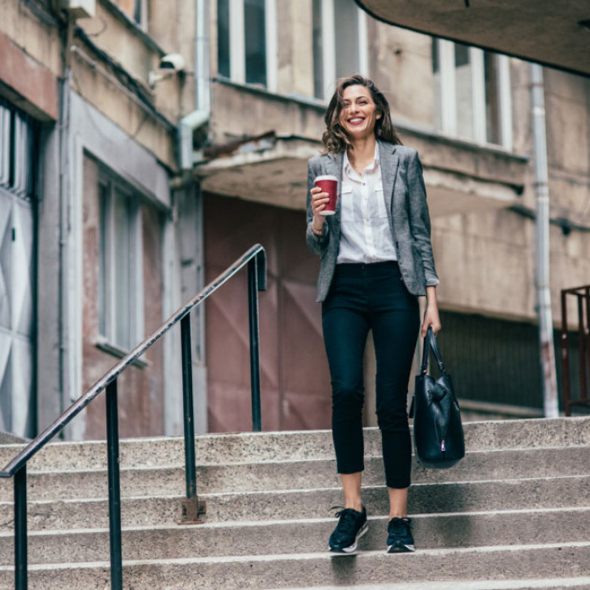 Walking is a great way to get to potential jobs that doesn't cost any money, and it's great exercise!