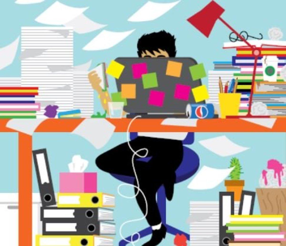 Increased stress at work