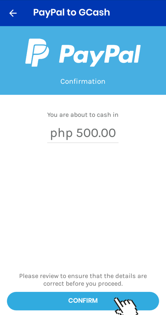 Transfer Money From PayPal to GCash