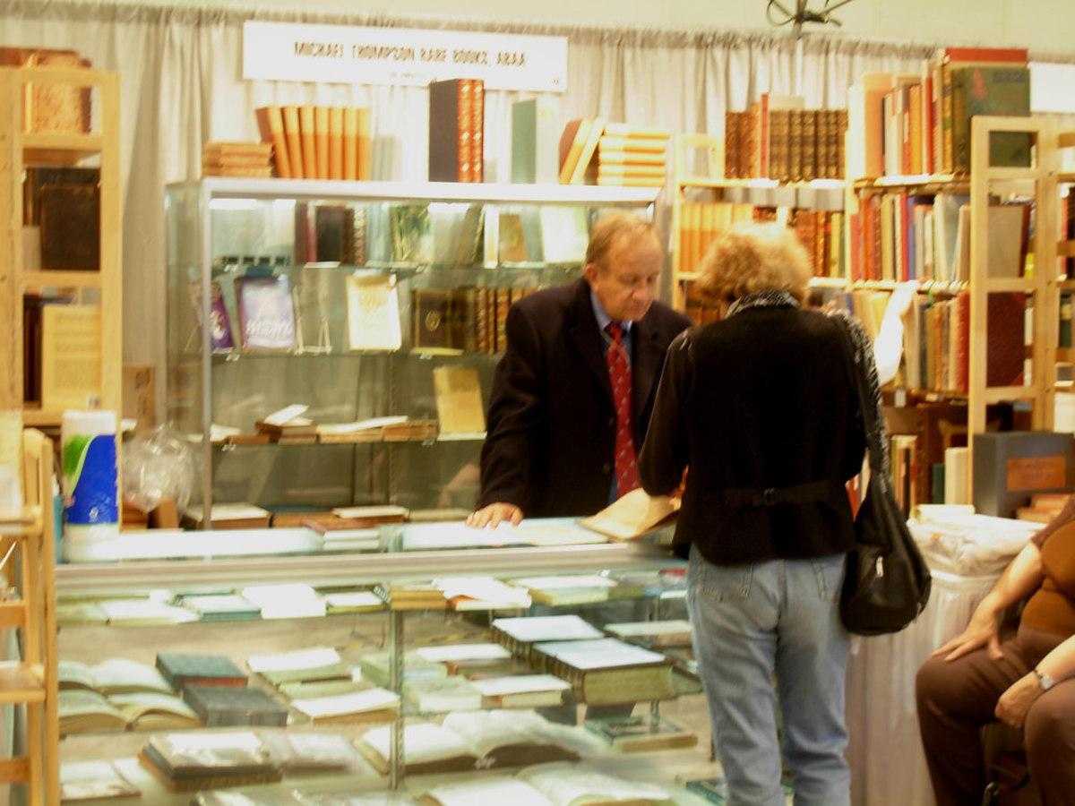 Michael Thompson Rare Books at Seattle Antiquarian Book Fair 2007