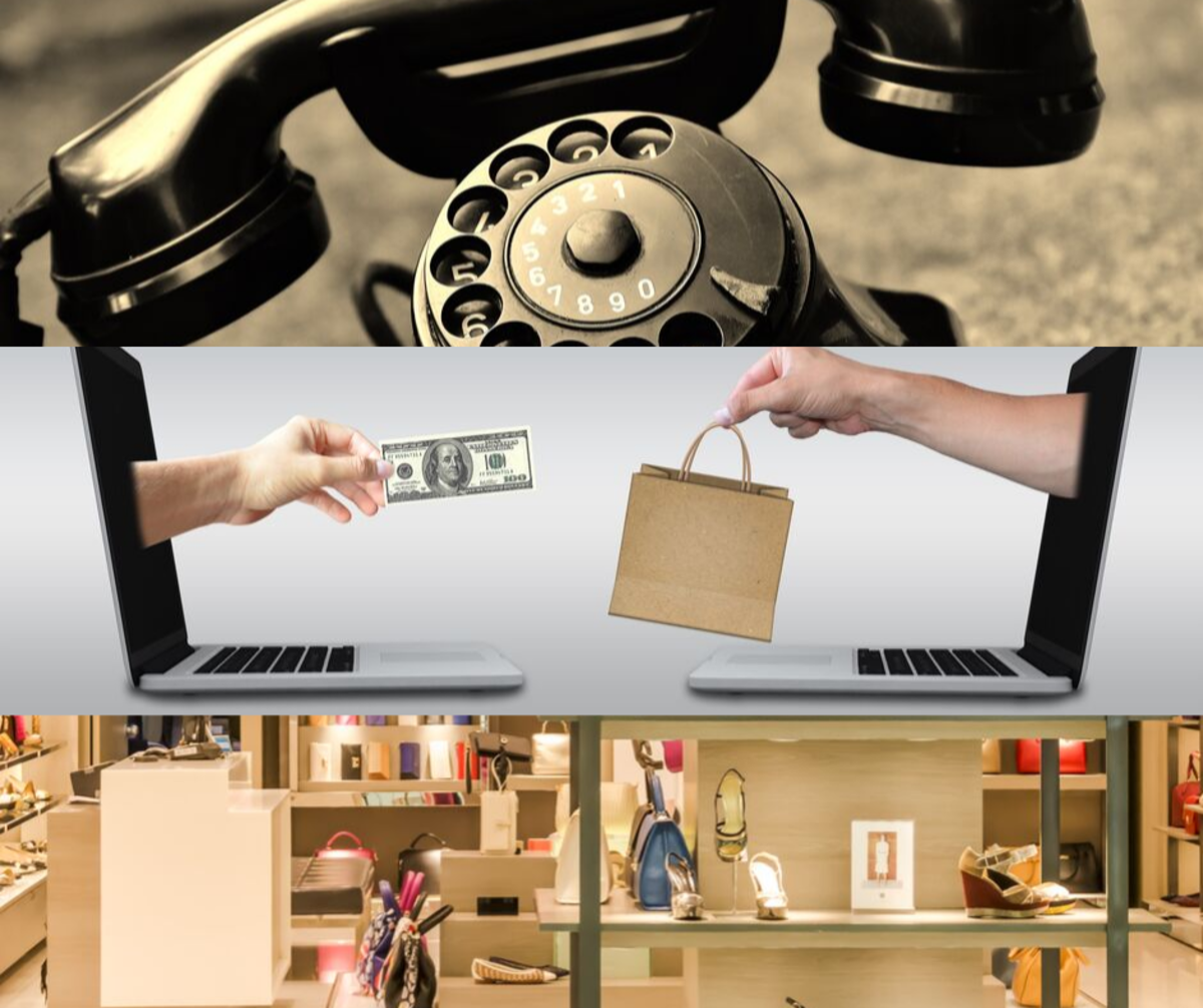 You can mystery shop by phone, online, or in-person.