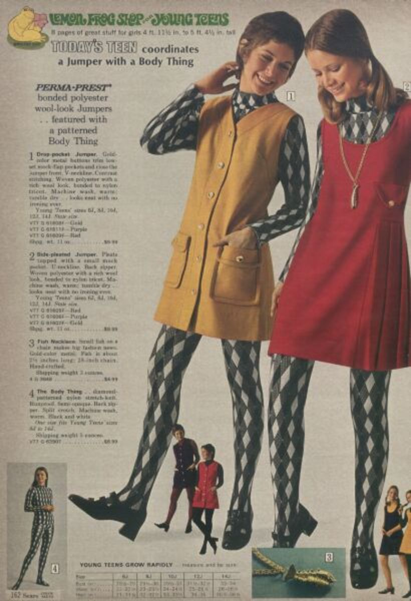 A page from the Lemon Frog Shop catalog.