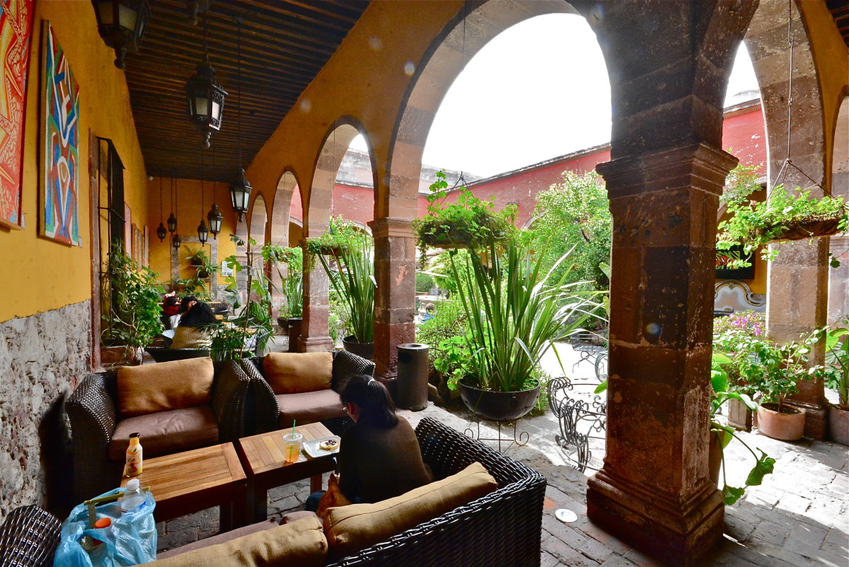 A place to relax in San Miguel de Allende