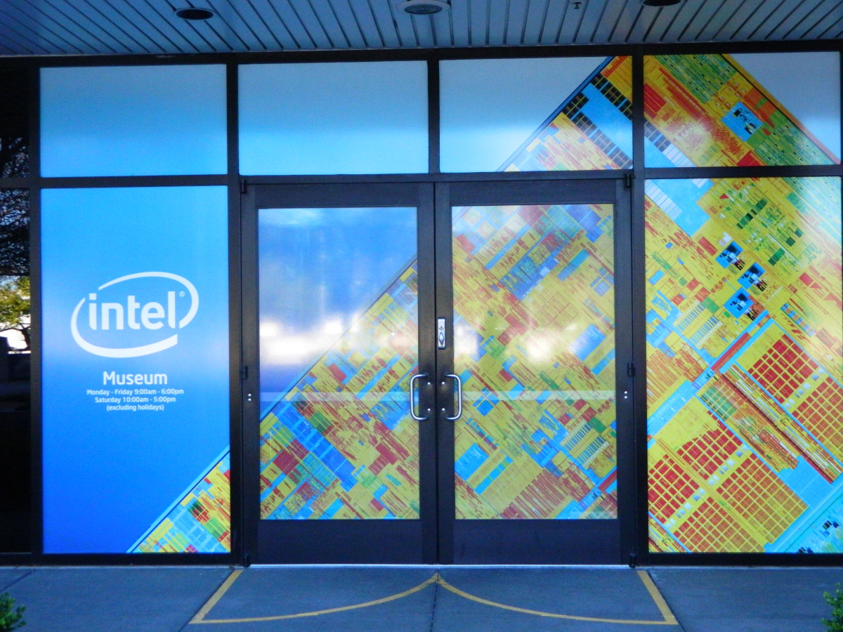 History Museum at Intel company headquarters.