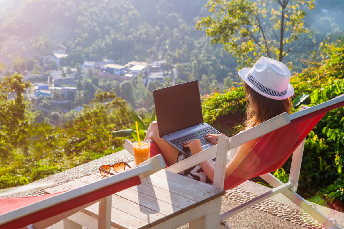 Being a digital nomad means to be free, first of all.