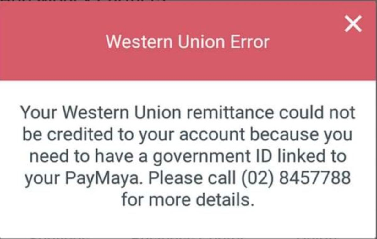 Mobile App Error Screenshot