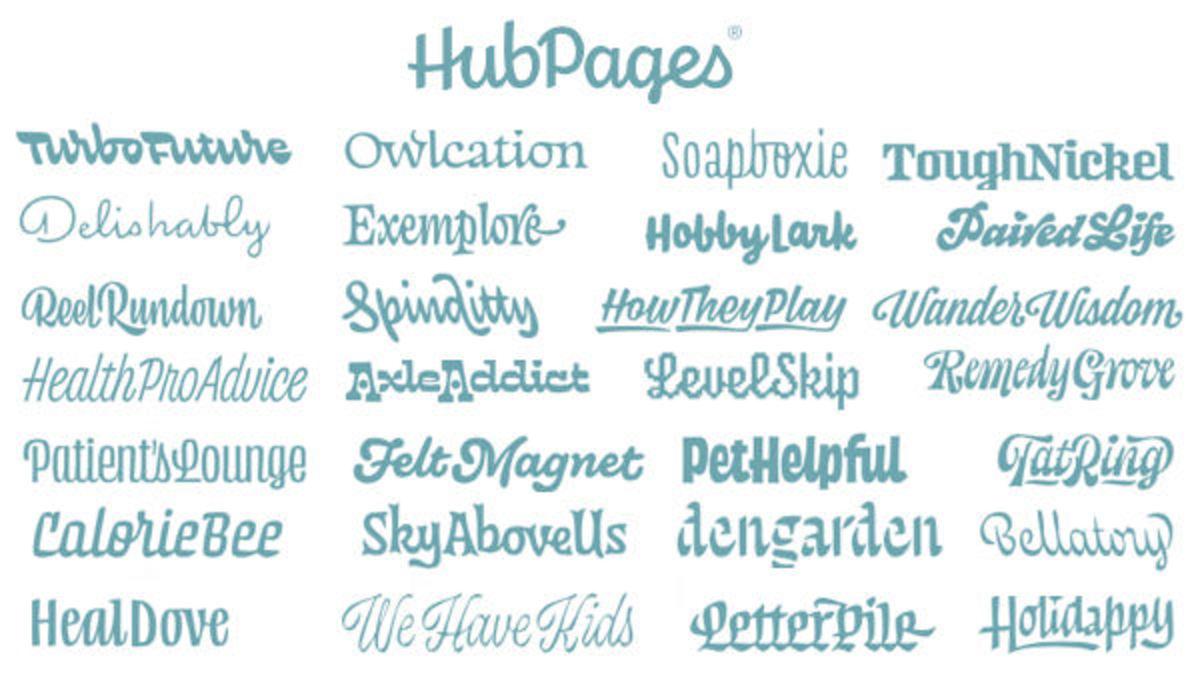 HubPages' Niche Sites