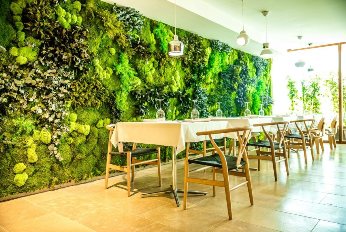 Specialized designs are sustainable for commercial interiors.
