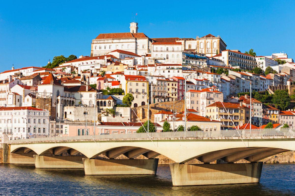 Coimbra is a scenic college town and an affordable place to retire in Portugal.