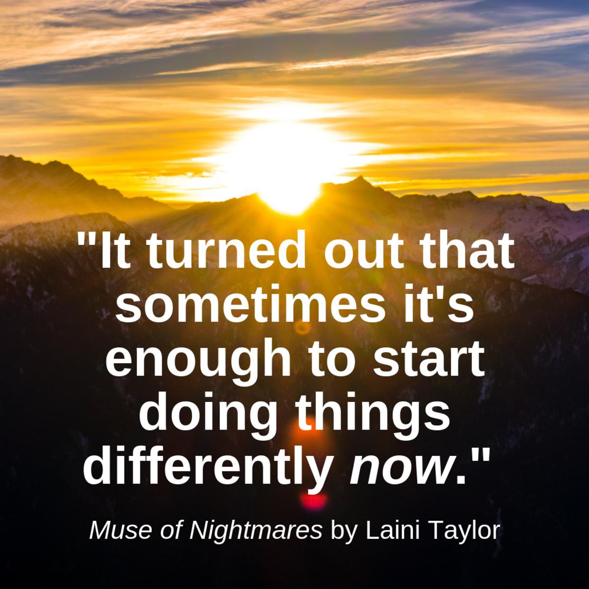没有完美的开始时间。