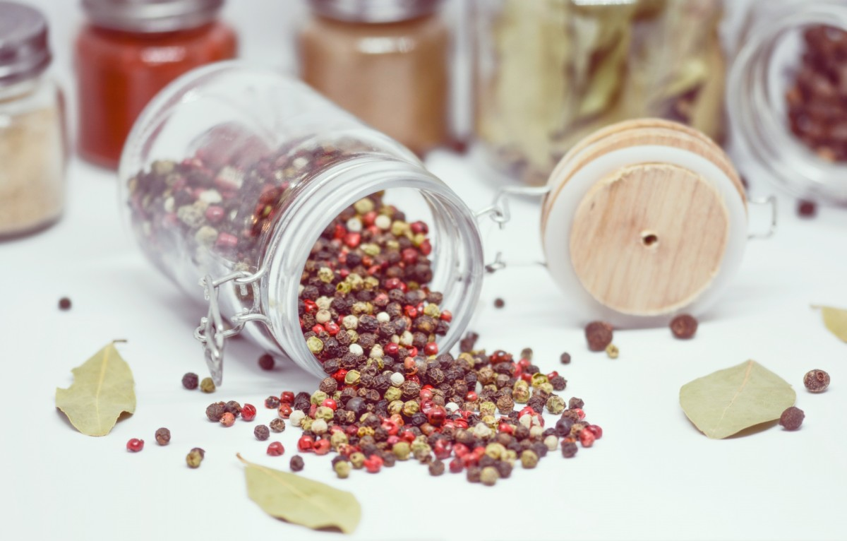 Gradually building a collection of herbs and spices will allow you to break up the monotony of eating on a budget.