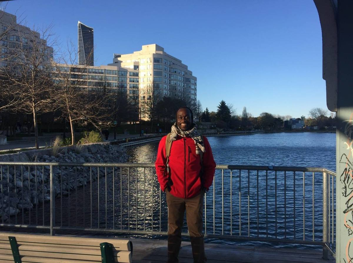 Amos authorized me to publish his story and a picture of him to share his experience with the Canada Express Entry, which he hopes will encourage someone to engage into this life-changing venture. God bless you all!