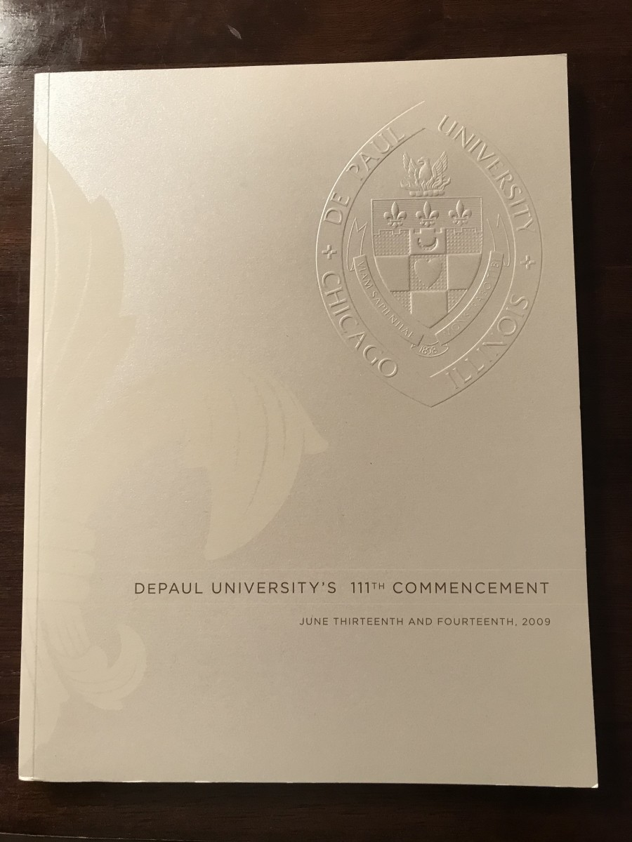 DePaul University's 111th Commencement Program