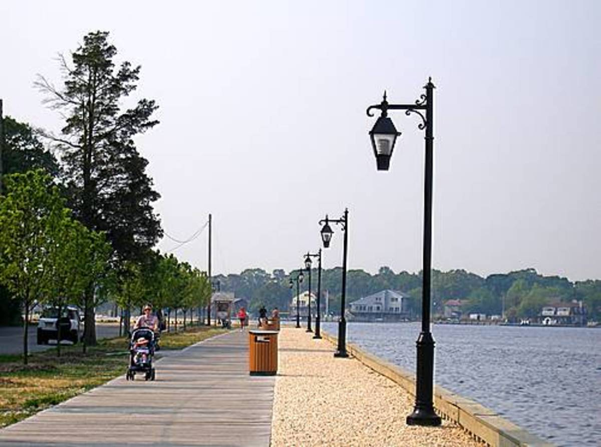 As families peacefully strolled the Tom's River boardwalk, personal data was being pilfered from their mailboxes.