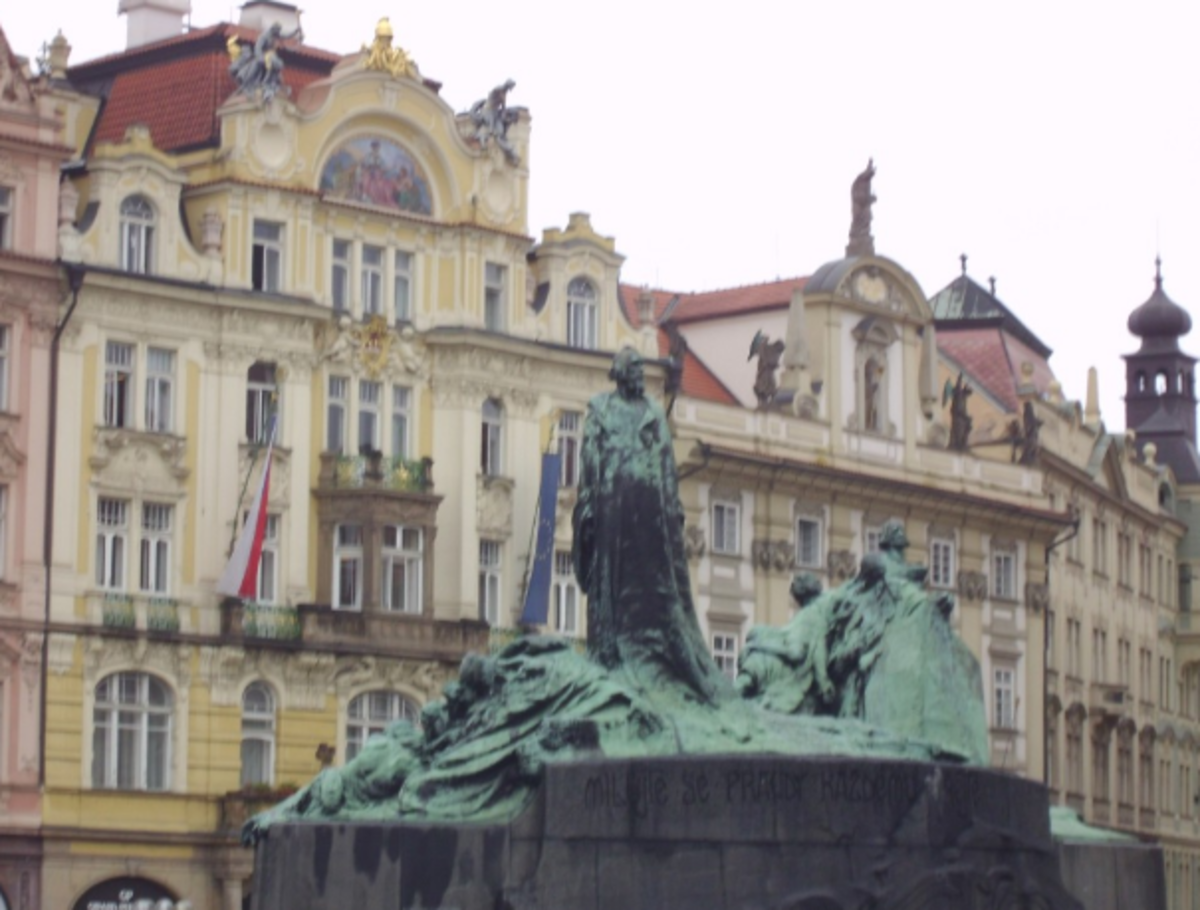 Old Town Square, Prague; Your Chase Ultimate Rewards Points could get you to some amazing locations.