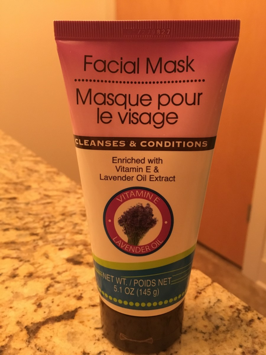 Face mask. It smells really, really good. My skin is just lightly oily, so it works for me. I've also seen an apricot scrub and a face wash, which also smells good. The ingredients look pretty decent as well.