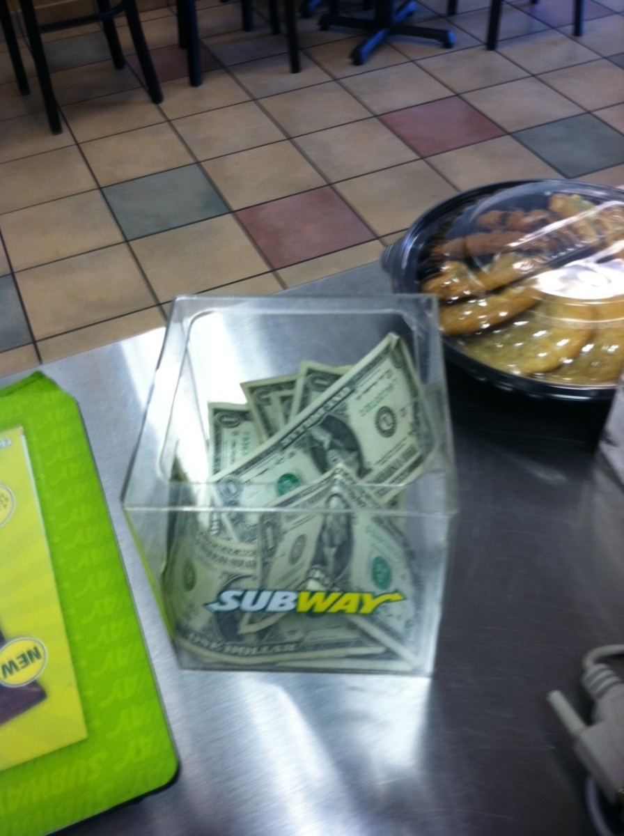 After reading this, you might be more likely to tip your Subway sandwich artist!