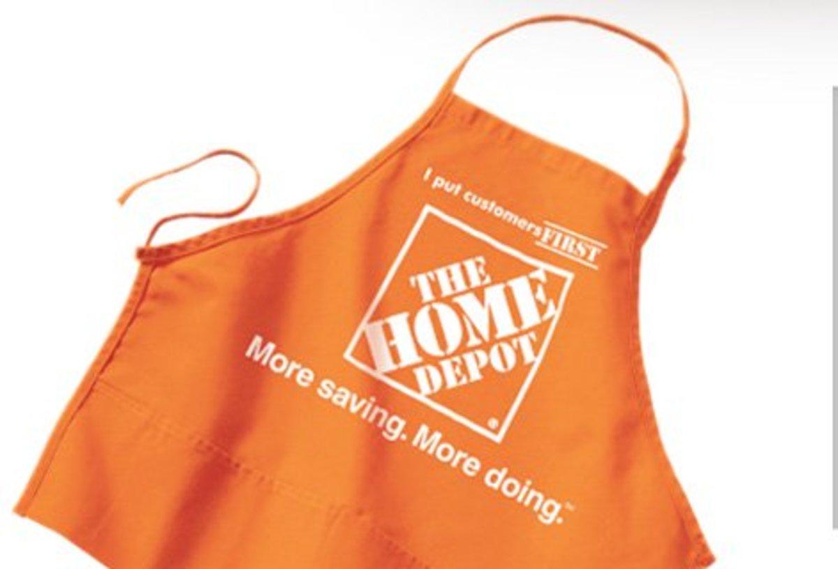 Home Depot Apron