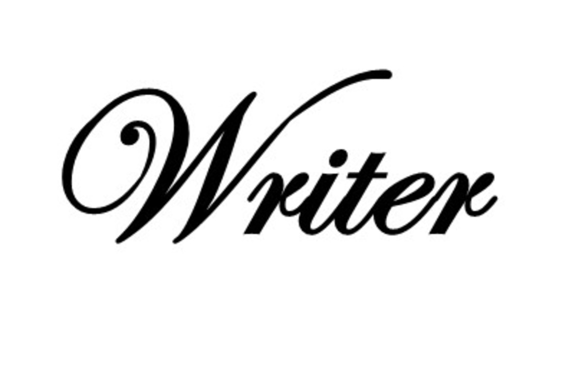 Write about what you love and what you're good at.