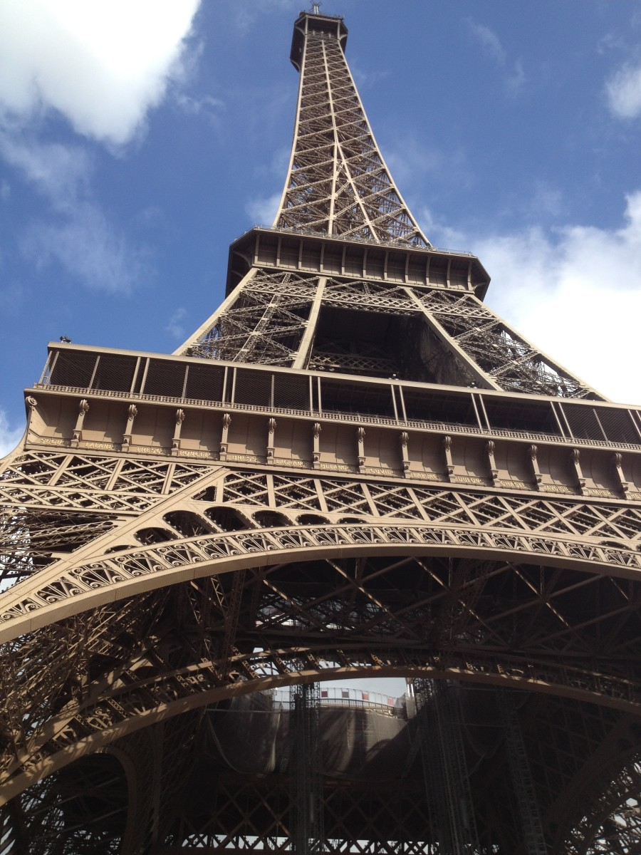 The Eiffel Tower:  it's an architectural and engineering marvel but also creative and artistic.