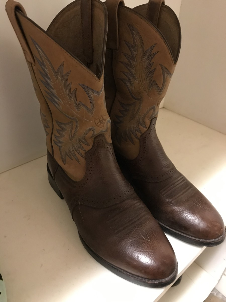 Cowboy boots I found for $25