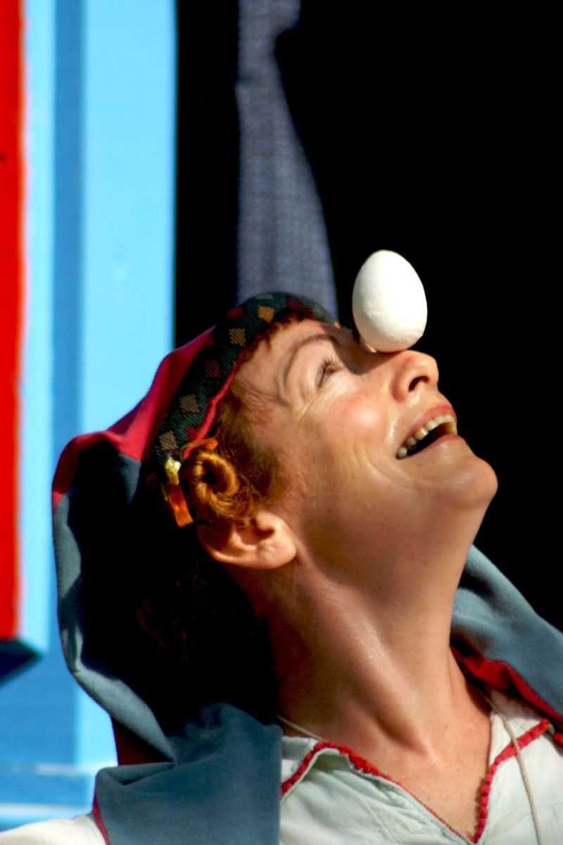 Balancing an Egg on Your Nose: Not Exactly What We Had in Mind!