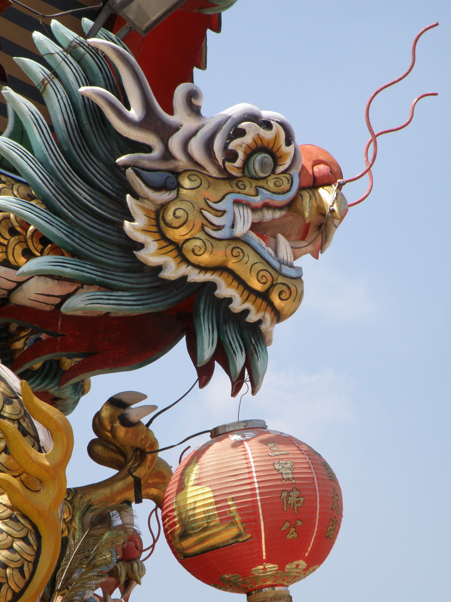Despite being the 5th animal of the zodiac, dragons lead the Chinese New Year procession every year.