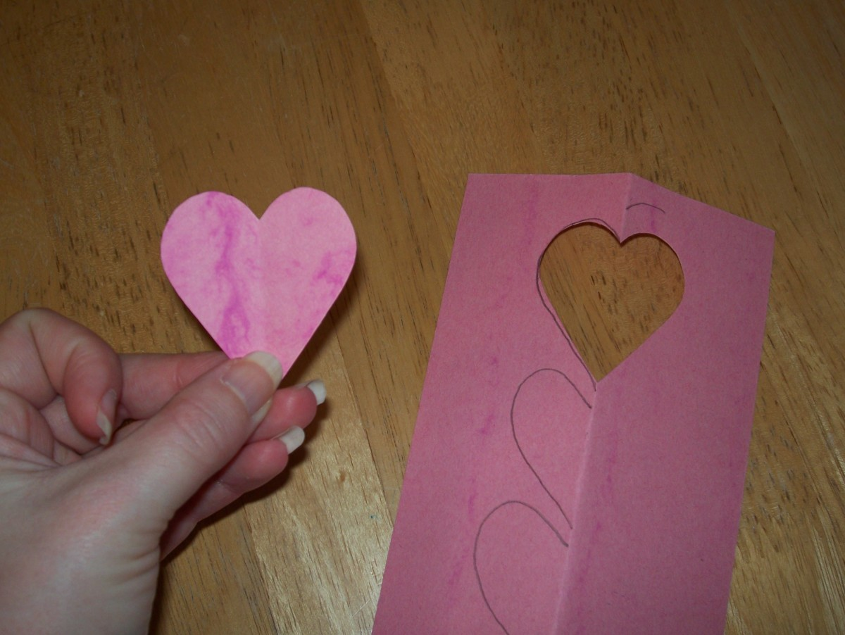 Step 5: Decorate your completed heart.