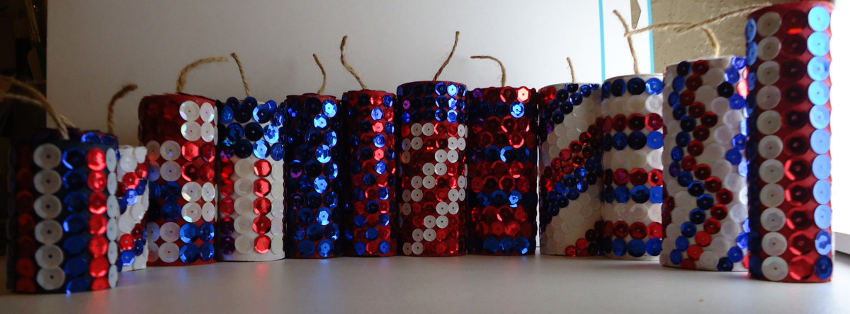DIY Firecracker Decor
