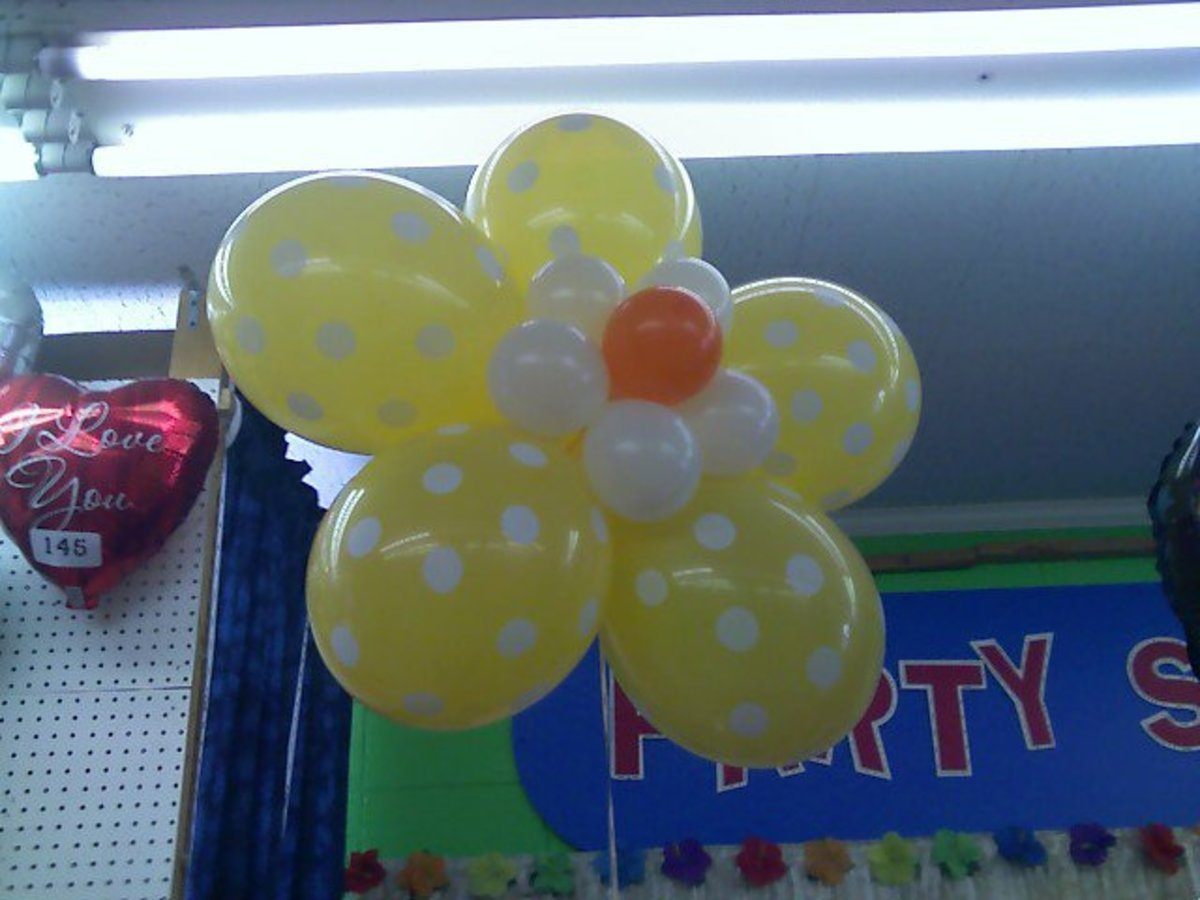 Kids love fun balloons.