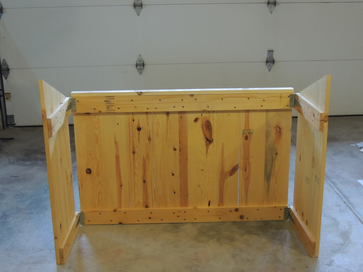 how to build an indoor nativity stable