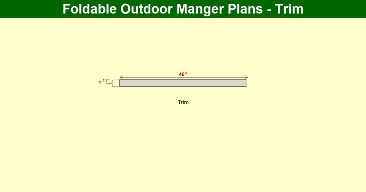 How To Build An Outdoor Manger Holidappy, How To Build A Manger For Outdoors