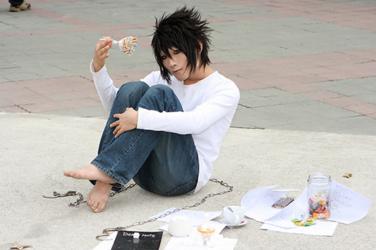 L from 'Death Note'