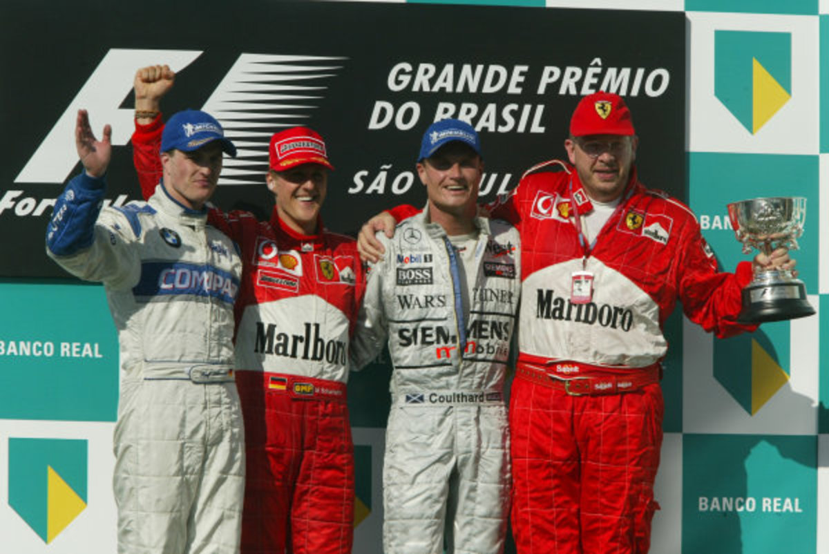 The 2002 Brazilian GP: Michael Schumacher's 55th Career Win