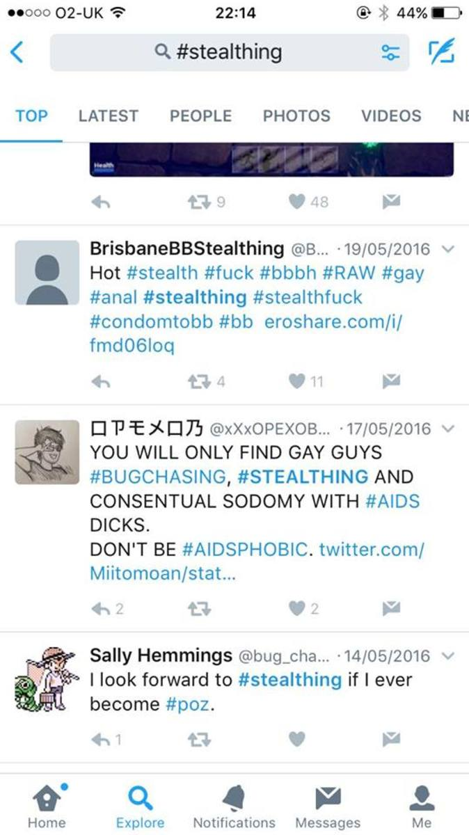 The further I scrolled through #stealthing posts on Twitter, the weirder it got